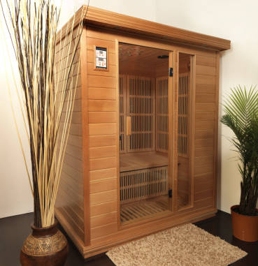 2 person infrared sauna