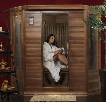 3 person infrared sauna