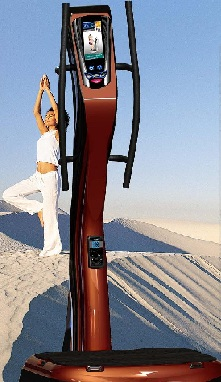 vibration plate 3000 - brown